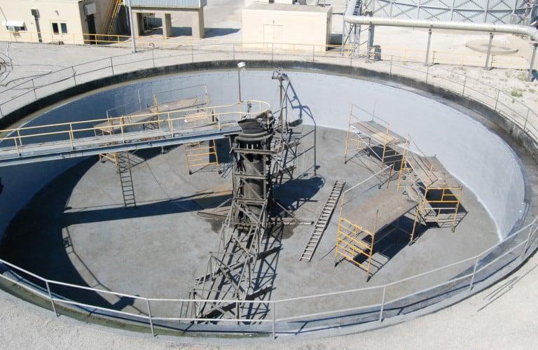 Sedimentary Tank lining